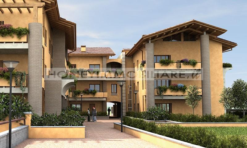 Appartamenti con giardino e terrazzo in vendita a noceto for Piani di appartamento garage bungalow